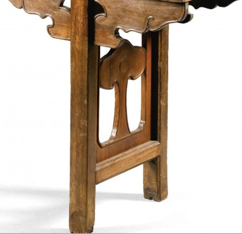 17th century - A large Chinese scholar hardwood table, 17th century