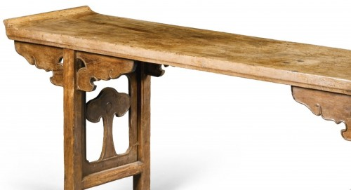 Antiquités - A large Chinese scholar hardwood table, 17th century