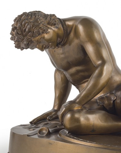 The Dying Galatian - Benedetto Boschetti (1820 - 1860) - Sculpture Style Louis-Philippe