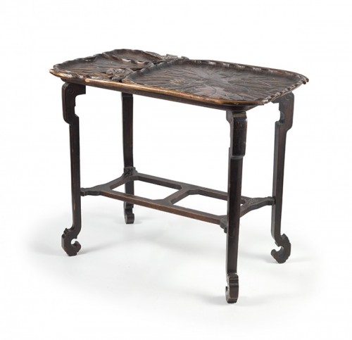 Furniture  - Japanese style center table, attributed to Gabriel Viardot