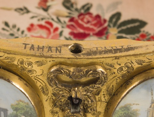 Late 19th century jewelry box signed Tahan Paris - Objects of Vertu Style Napoléon III
