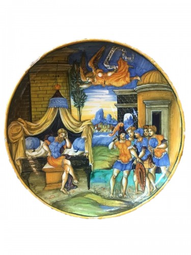 "A bowl ""The Dream of Constantin"", Pesaro"
