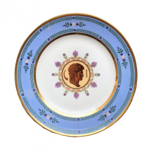A plate from the comte Marcellus service