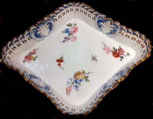 A Sèvres losange tray  - Porcelain & Faience Style