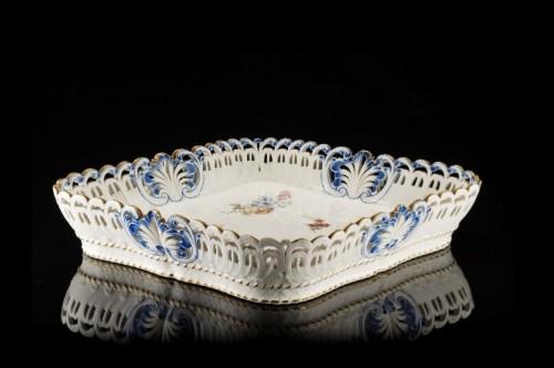Porcelain & Faience  - A Sèvres losange tray
