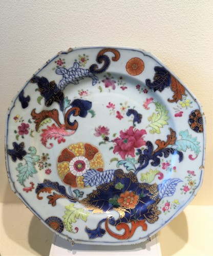 A Chinese porcelain plate - Collectibles Style