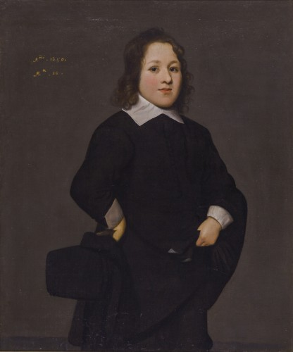 Portrait of a young boy - Attributed to Mathijs Harings (Leeuwarden c.1593 – c.1667 Leeuwarden)