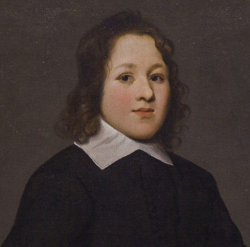 Portrait of a young boy - Attributed to Mathijs Harings (Leeuwarden c.1593 – c.1667 Leeuwarden) - Paintings & Drawings Style
