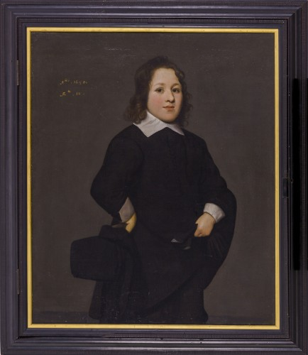 Portrait of a young boy - Attributed to Mathijs Harings (Leeuwarden c.1593 – c.1667 Leeuwarden) -