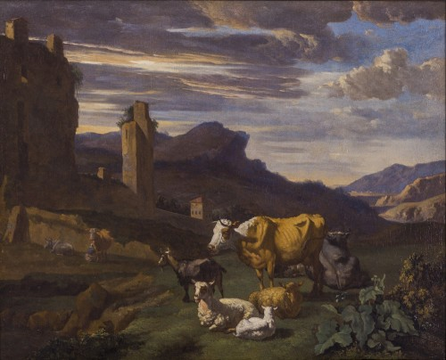 Willem Romeyn (c.1624–c.1694) - An Italianate Landscape