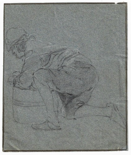 Attributed to Cornelis Dusart (1660–1704) - Study of Man