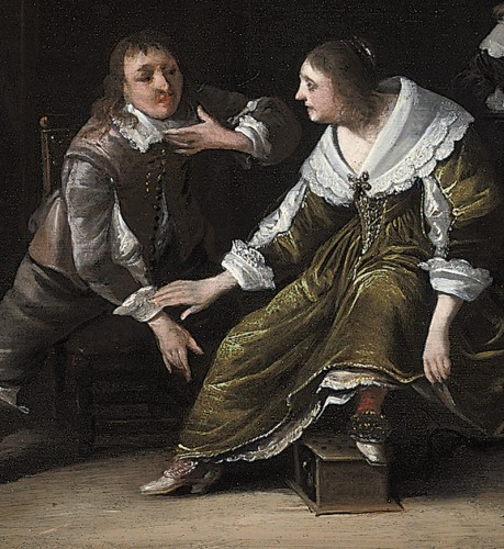 Anthonie Palamedesz (1601–1673) - Elegant Company - Paintings & Drawings Style