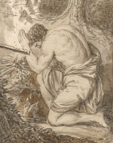 Paintings & Drawings  - Louis Fabritius Dubourg (1693–1775) - Cain and Abel