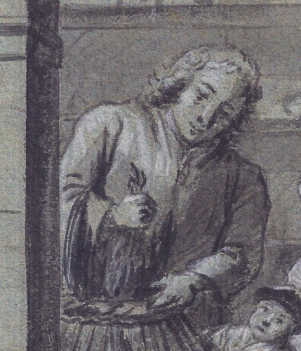 Paintings & Drawings  - Tibout Regters (1710–1768) - The Poulterer's Shop