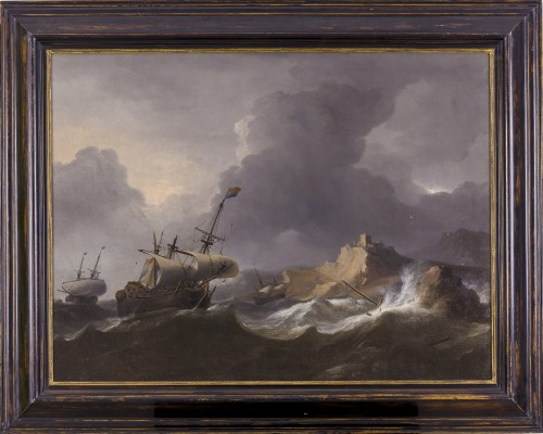17th century - Aernout Smit (1640/41–1710) - Ships in Distress
