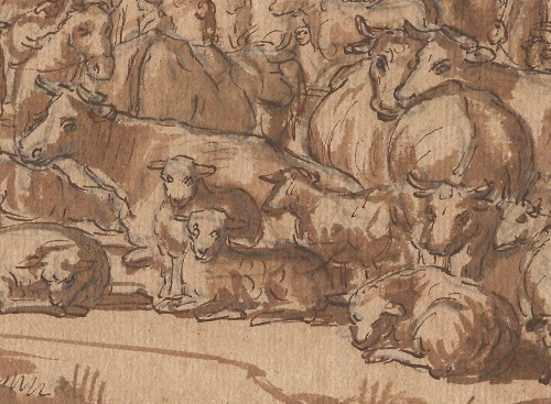 Paintings & Drawings  - Attributed to Gerrit Claesz. Bleker (1592/93–1656) - Abraham and Lot