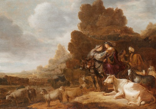 - Attributed to Gerrit Claesz. Bleker (1592/93–1656) - Abraham and Lot