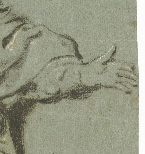 Paintings & Drawings  - Govert Flinck (1615–1660) - Study of a Seated Man