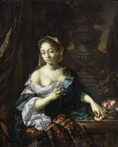 L. Beugholt (The Netherlands, early 18th century) - Portrait of a Lady - Paintings & Drawings Style