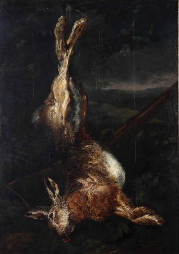 Attributed to Peeter Boel (1622 – 1674) - A Dead Hare - Paintings & Drawings Style