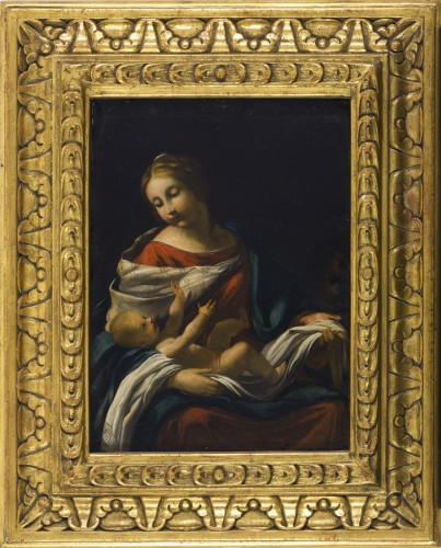 Attributed to Jacques Blanchard (1600 – 1638)- Virgin and Child