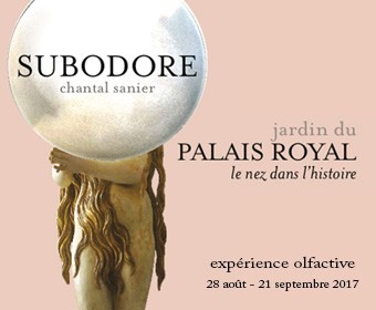 « Subodore » de Chantal Sanier au jardin du Palais-Royal