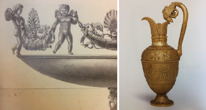 Pot à eau par JBC Odiot circa 1819