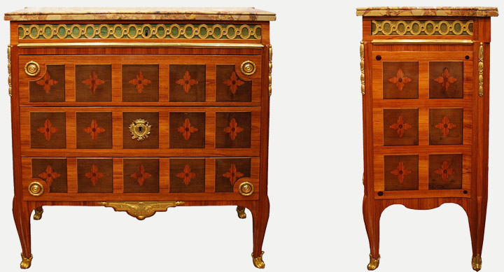 Claude-Charles Saunier - Commode