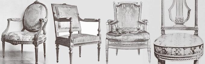 Le style louis xvi anticstore antiquit s for Salon style louis 16