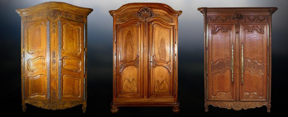 Meubles r gionaux anticstore antiquit s le mobilier for Les styles de meubles anciens